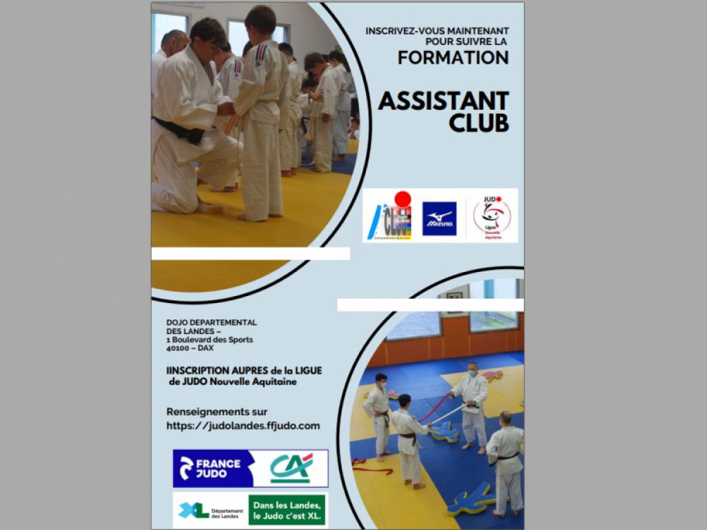 Image de l'actu 'Formation Assistant Club 2021/2022'