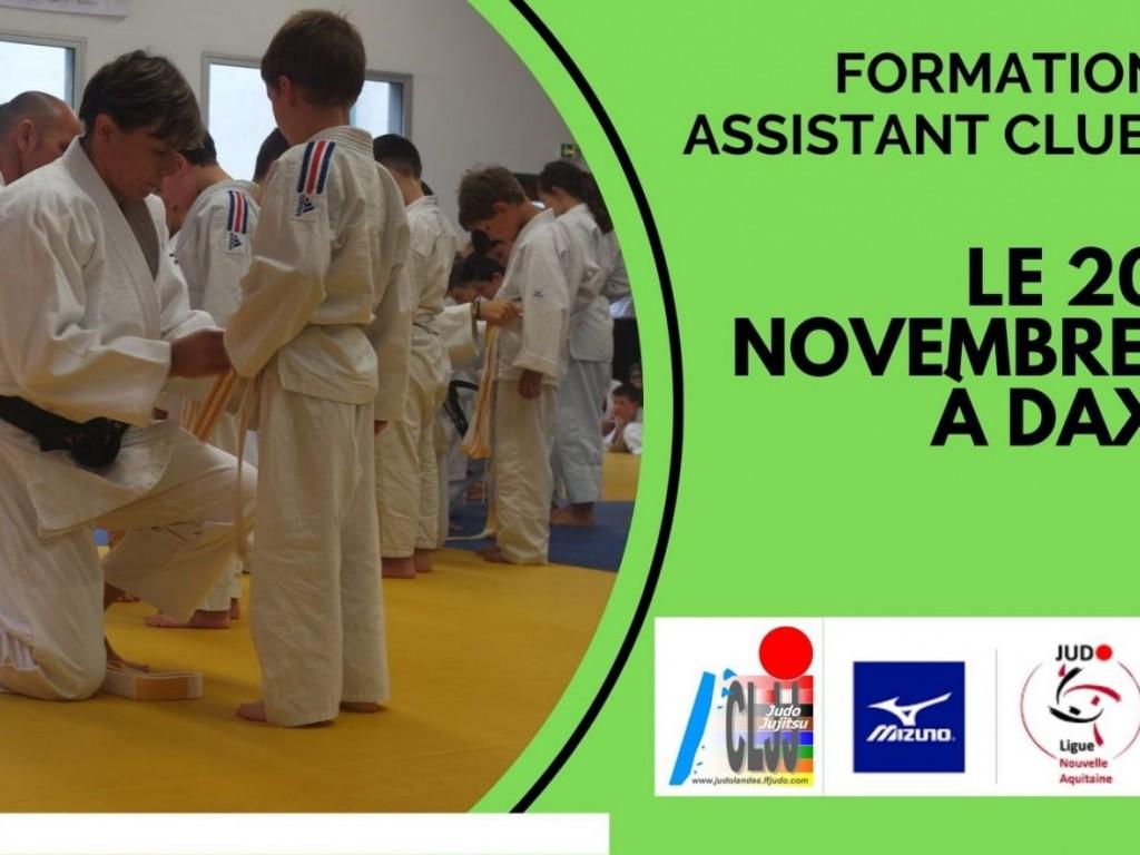 Image de l'actu 'Formation ASSISTANT CLUB 20/11/2021'