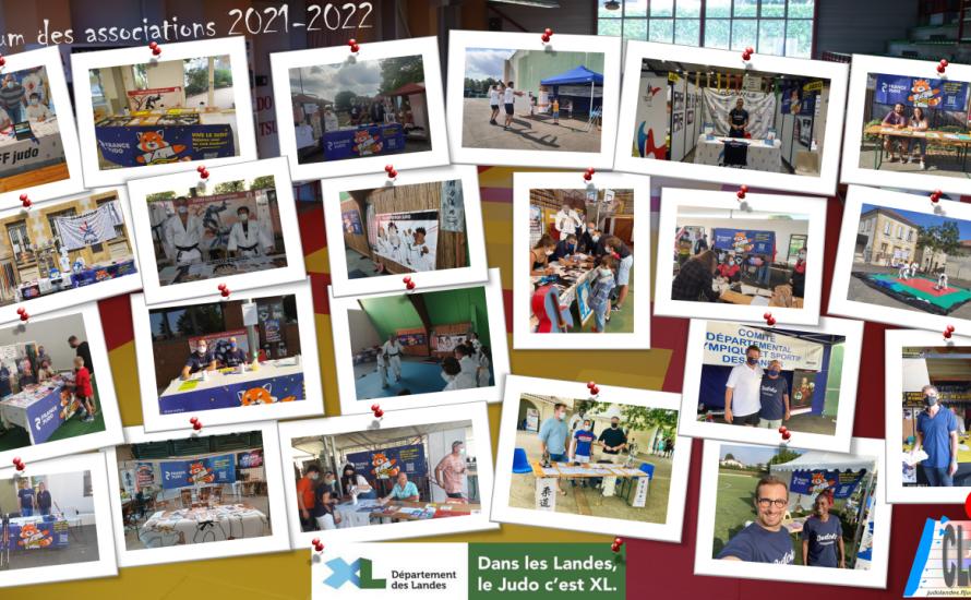 #ForumDesAssos : le comité soutient les clubs Landais !!!!