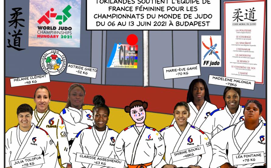 Budapest 2021 : TokiLandes soutient l'équipe de France